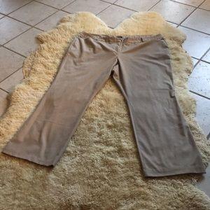 Worthington Modern Women's tan dress pants Sz 24W